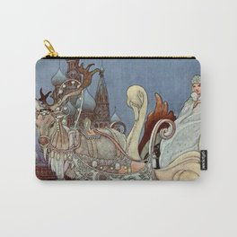 """""""The Happy Princess"""" Fairy Art by Charles Robinson Carry-All Pouch"""