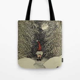 """Tomten Elmer"" call of nature. Tote Bag"