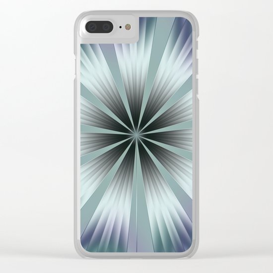 Winter Crinkle Clear iPhone Case