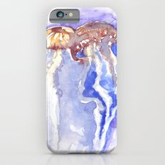 Jellyfish watercolor Slim Case iPhone 6s