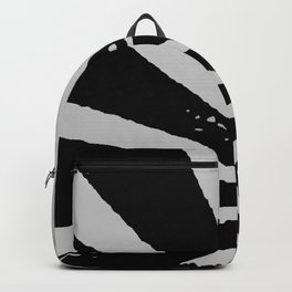 Black Sunburst Backpack