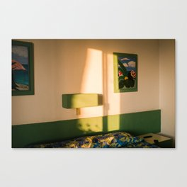Hotel Room Canvas Print