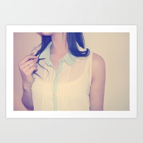 BLOUSE Art Print