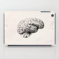 brain iPad Cases featuring Brain by Andreas Derebucha