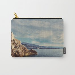 A Monaco View of the French Riviera Carry-All Pouch