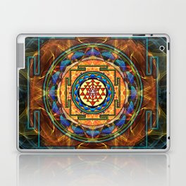 The Sri Yantra - Sacred Geometry Laptop & iPad Skin