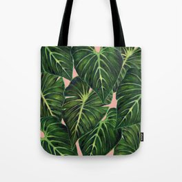 Tropical II Coral Tote Bag