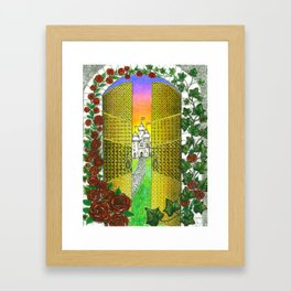 Golden Gateway  Framed Art Print