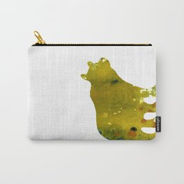 Abstract Acrylic Painting BEAR II Carry-All Pouch