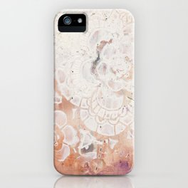 Wax Flowers 13 iPhone Case