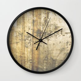 Grunge Texture 11 - Dirty Wall Clock