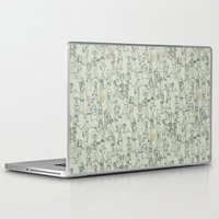it crowd Laptop & iPad Skins featuring crowd by Ed Hepp