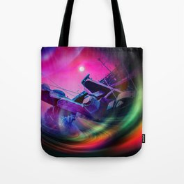 Our world is a magic - Time Tunnel 2 Tote Bag