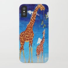 G is for Giraffe iPhone X Slim Case