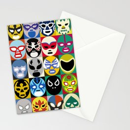 Lucha Libre 2 Stationery Cards
