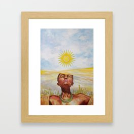 """Rwanda"" Framed Art Print"