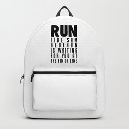 RUN LIKE SAM HEUGHAN Backpack