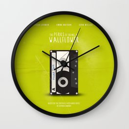The Perks of Being A Wallflower (Vintage) Wall Clock