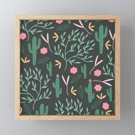 Cactus Garden Summer Framed Mini Art Print