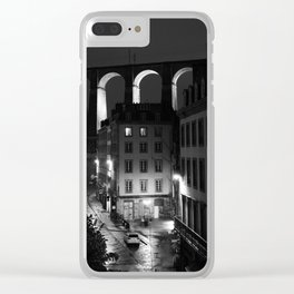 Morlaix 5b Clear iPhone Case