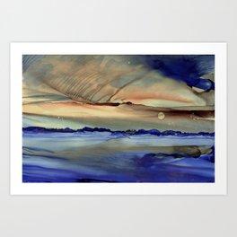 Evening #25 Art Print
