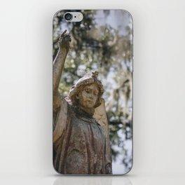 Bonaventure Cemetery Angel II iPhone Skin