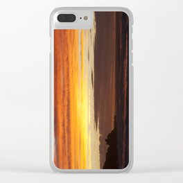 When the sky turns Clear iPhone Case