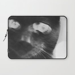 Crazed Cat Laptop Sleeve