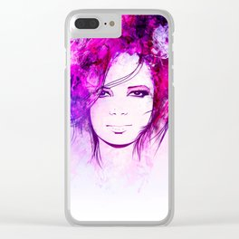 Shirley M. Clear iPhone Case