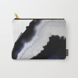 Blue syrup Agate Carry-All Pouch