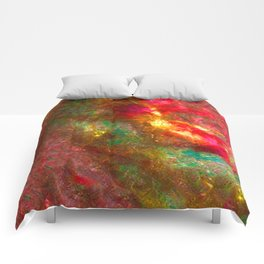 Fire Fairy In Paradi Comforters