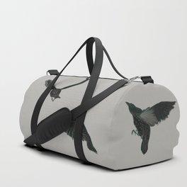 Common Starlings Duffle Bag