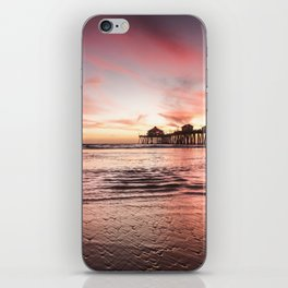 HB Sunsets 12-22-18 iPhone Skin