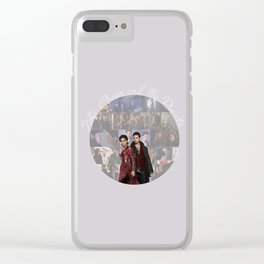 The Queen and the Pirate Clear iPhone Case