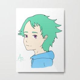 Ao Fukai - Eureka Seven Metal Print