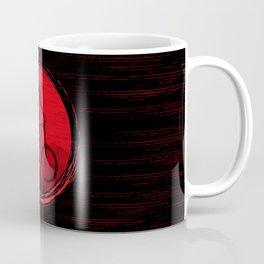 Red Moon Bike Coffee Mug
