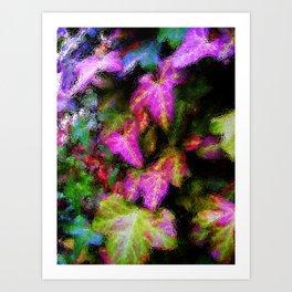 Climbing Ivy Art Print