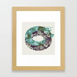 Q1-Q2 Framed Art Print