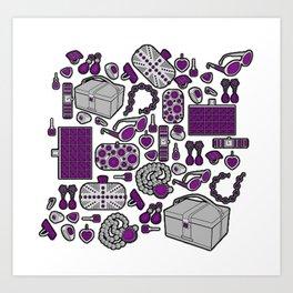 Accessories Art Print