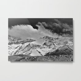 """""""Wild mountains"""". Wilderness. Into the storm Metal Print"""