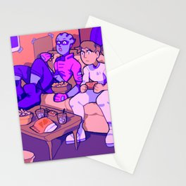 game night Stationery Cards