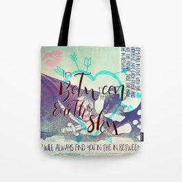 In Between artwork Tote Bag