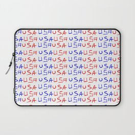 usa 4-america,united states of america,us,stars and strips,patriotic,patriot,united states,new york Laptop Sleeve