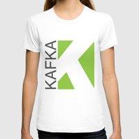 kafka T-shirts featuring Kafka Educación en línea by Kafka Prepa Abierta