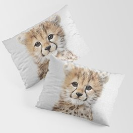 Baby Cheetah - Colorful Pillow Sham