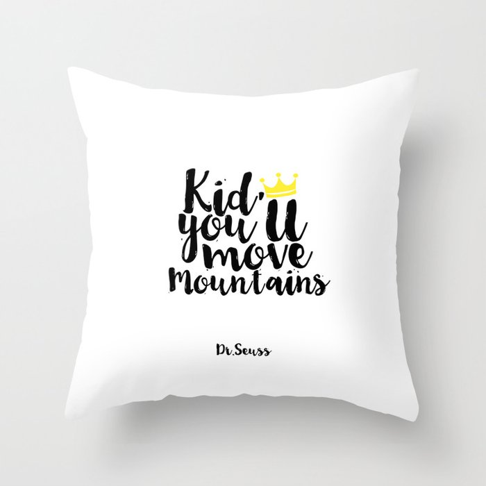 Kids Gift Kid Youll Move Mountains Nursery Decor Nursery Wall Art