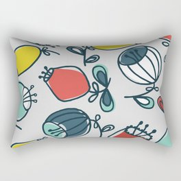 thick ballflower Rectangular Pillow