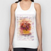 flora Tank Tops featuring Flora  by Music of the Heart