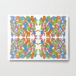 Switch-A-Roo Metal Print