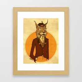 {Bosque Animal} Lince Framed Art Print